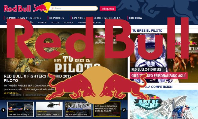 Red Bull marketing y publicidad